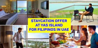 staycation at yas island offer for filipinos